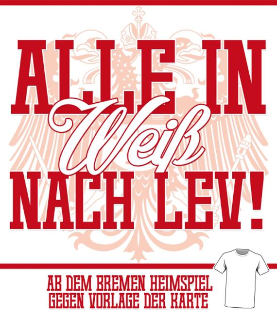 Köln Alle in Weiß