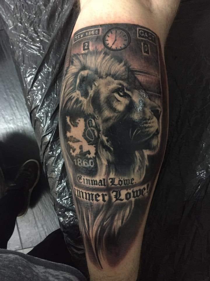 Eintracht Frankfurt Tattoo