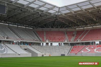 Abmessung Gästeblock SC Stadion Freiburg im Breisgau