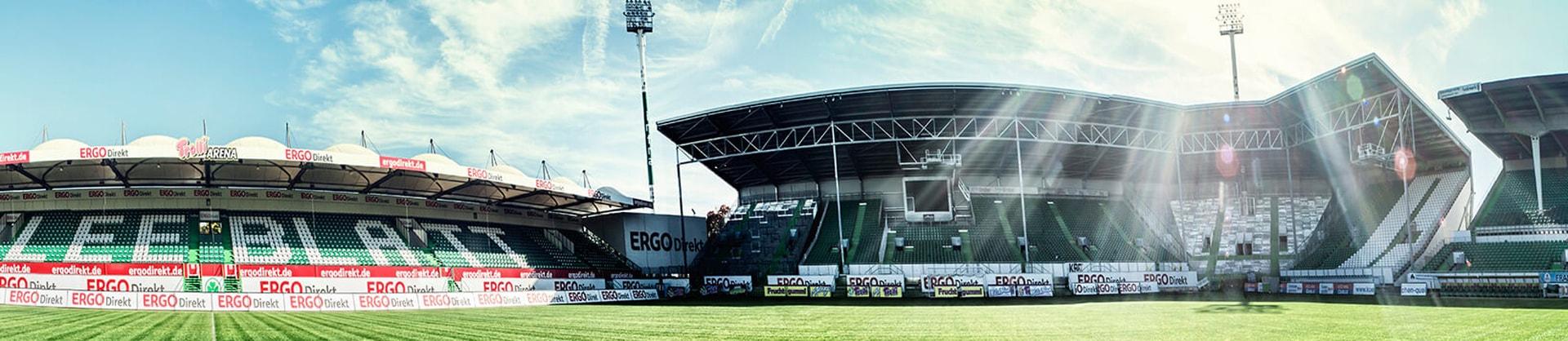 Große Pyro-Show zu 110 Jahren Sportpark Ronhof