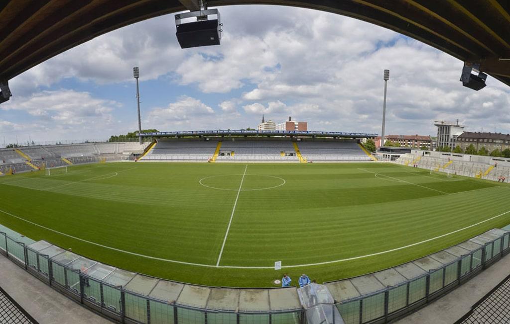Grünwalder Stadion von Innen