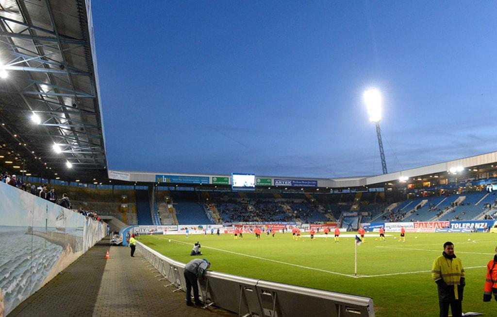Ostseestadion Rostock von Innen