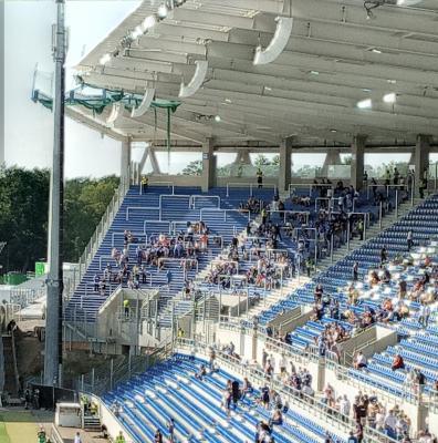 Abmessung Gästeblock Wildparkstadion Karlsruhe