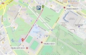 Anfahrt Rudolf-Harbig-Stadion