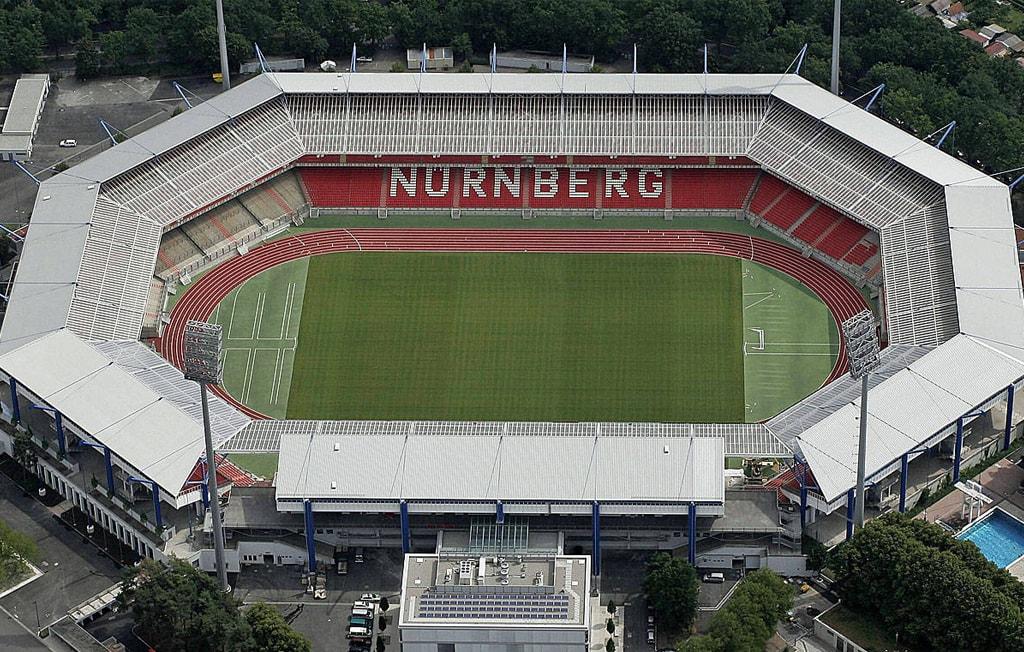 Max Morlock Stadion von Oben