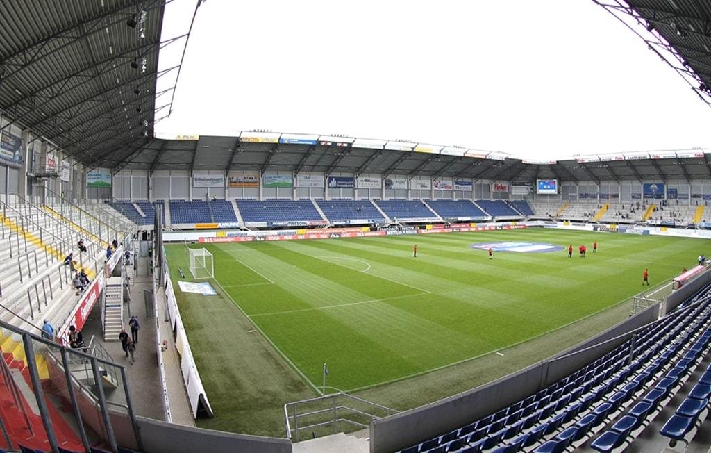 Paderborn Stadion innen