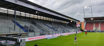 Abmessung Gästeblock Brita-Arena Wiesbaden