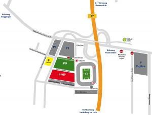 Anfahrt WWK Arena