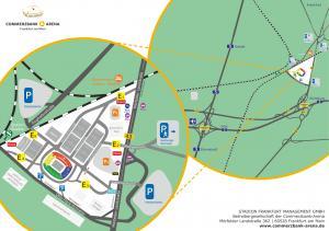 Anfahrt Commerzbank Arena