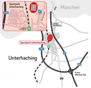 Anfahrt Alpenbauer Sportpark