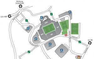 Anfahrt Fritz-Walter-Stadion