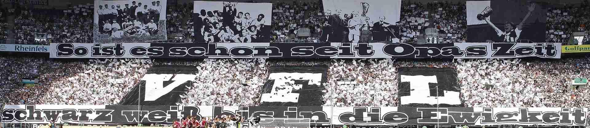 Die besten Fanmärsche: Borussia Mönchengladbach internationale