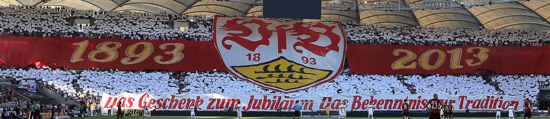 Legendärer Fanmarsch des VfB Stuttgart: die traditionelle Karawane Cannstatt